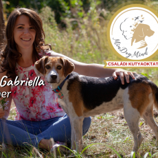 Szép Gabriella kutyatréner